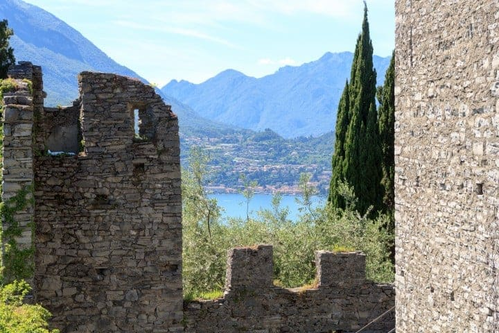 Uitzicht Castello di Vezio