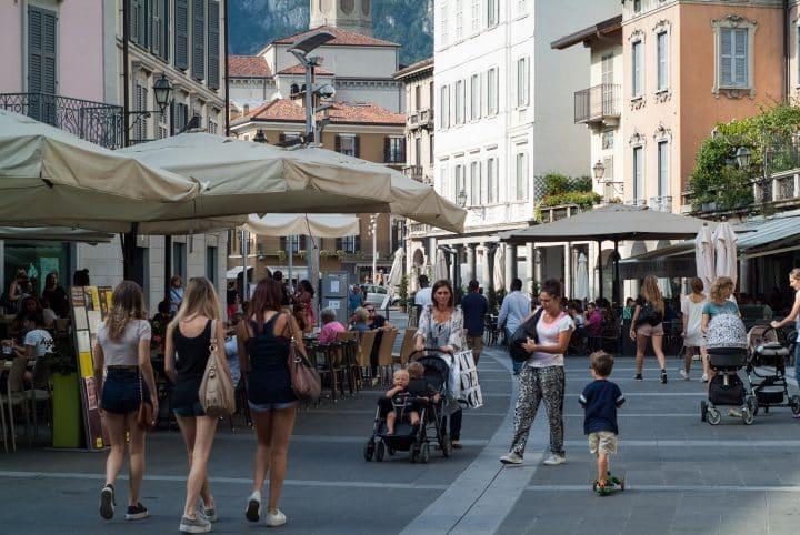 Winkelen Comomeer - Lecco