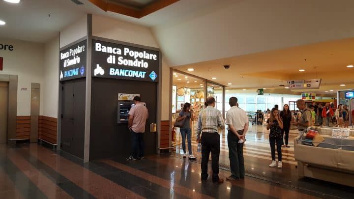 Pinnen Italië - Bancomat