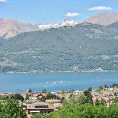 Uitzicht vanuit Villa Sweet Home Colico