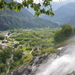 Waterval Acqua Fraggia Piuro